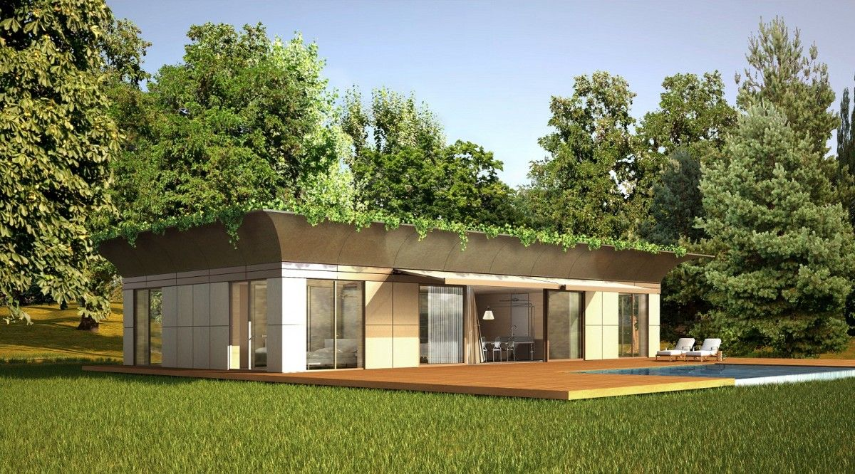 maison ecolo bois philippe starck archi design pinterest maison cologique maison et. Black Bedroom Furniture Sets. Home Design Ideas