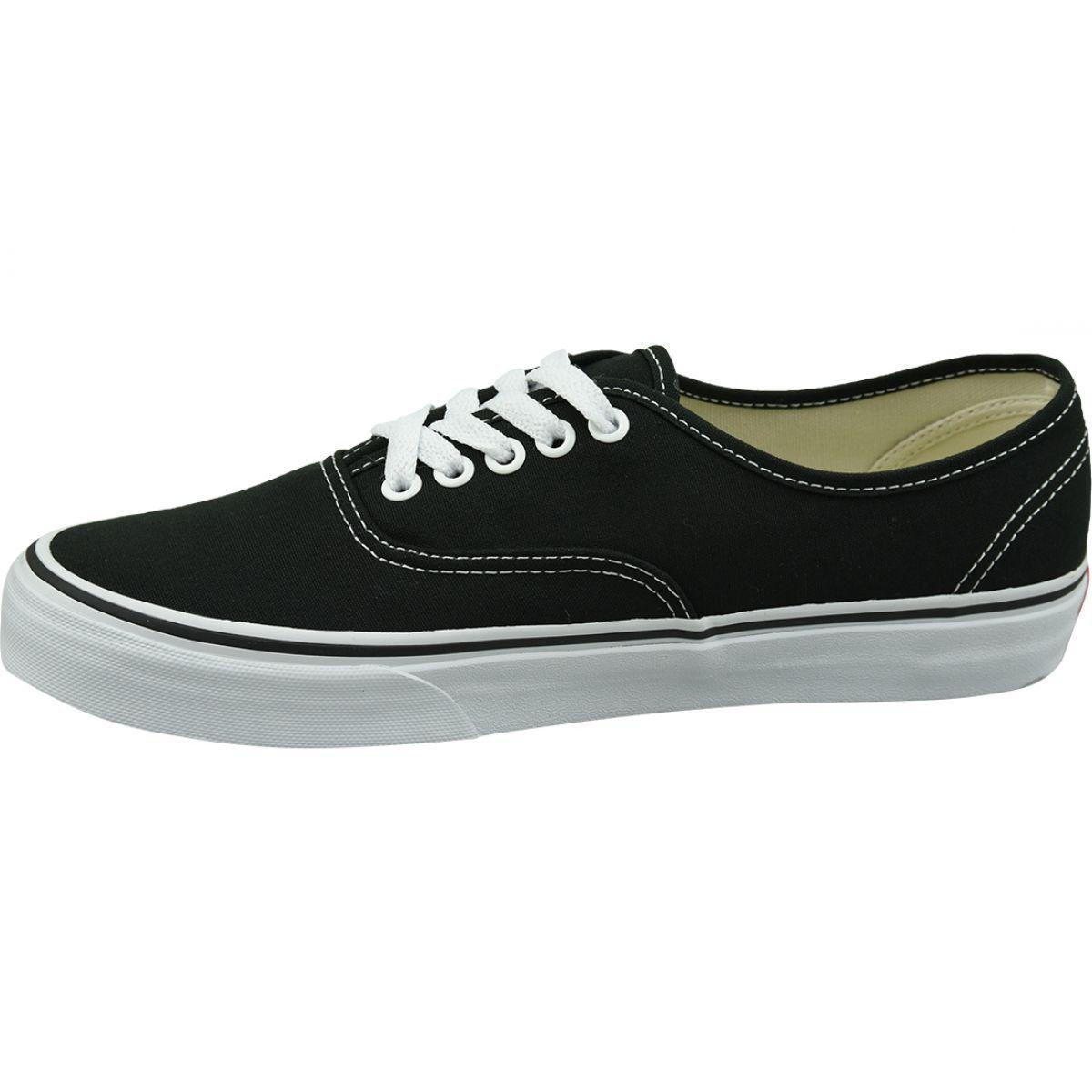 Buty Vans Authentic W Vee3blk Czarne Vans Black Shoes Vans Authentic