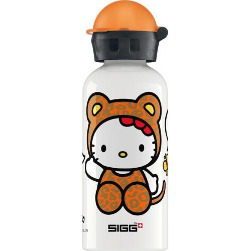 SIGG .4 liter 1 Hello Kitty Leopard White Kids Water Bottle