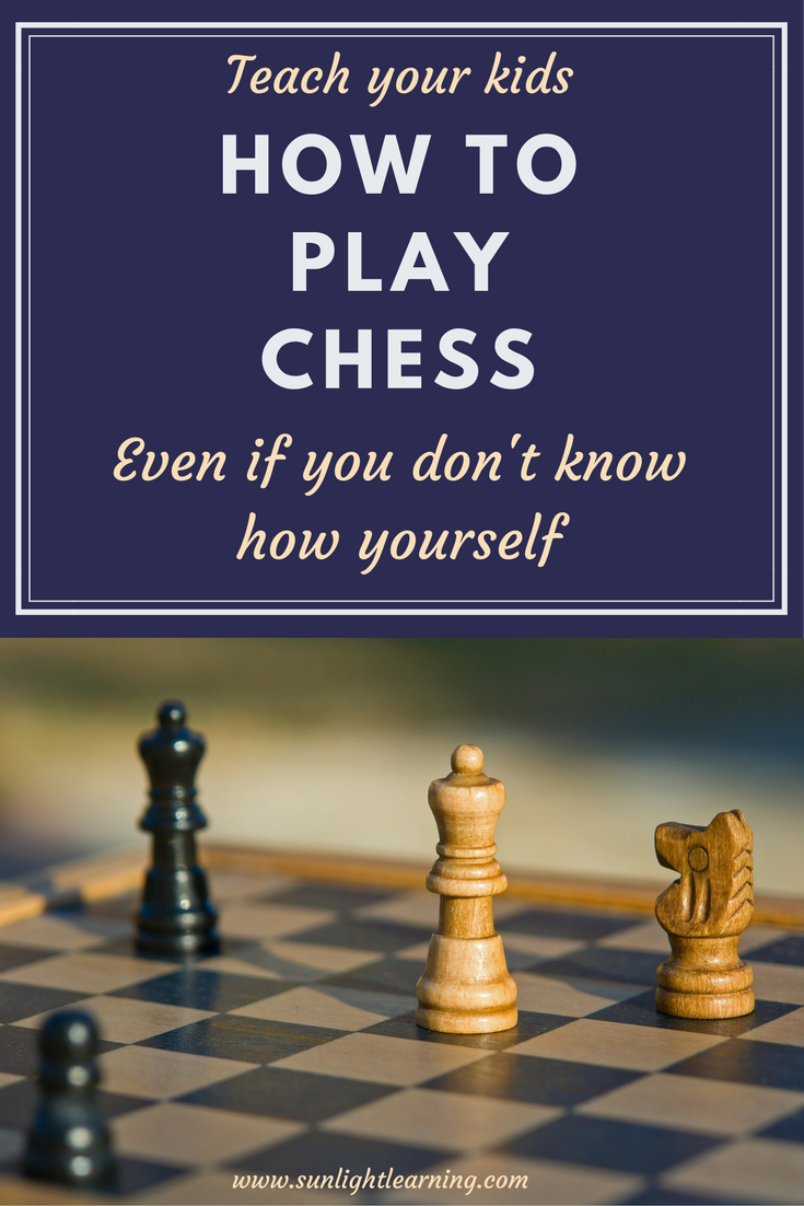 Chess is a great way to stretch the mind, and teach