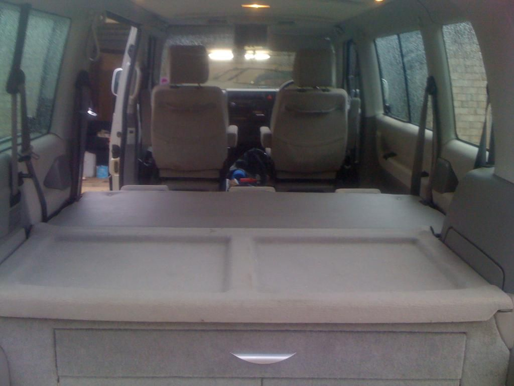 Bed For My T4 Caravelle