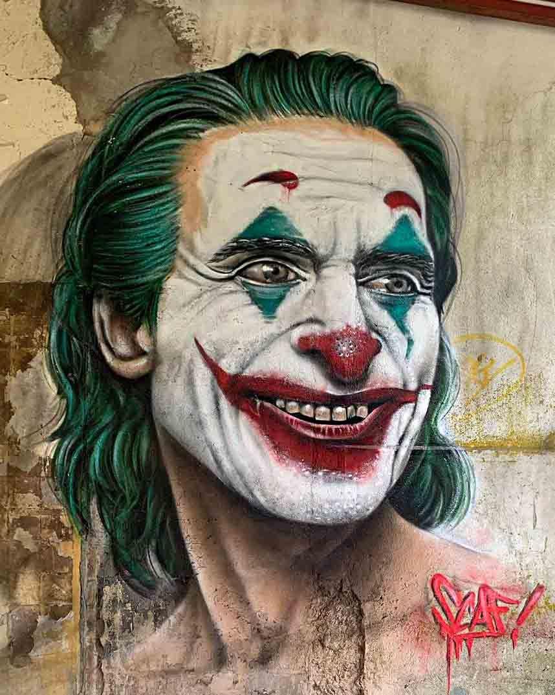 صور الجوكر جوكر الجوكر Joker Images Joker Image Graffiti Joker Graffiti جرافيتى الجوكر Murals Street Art Street Art Graffiti Street Art News