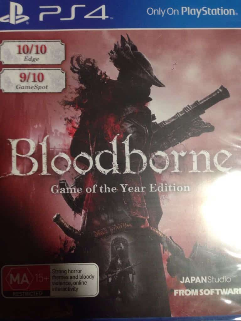 Bloodborne Goty Edition Ps4 Games On Rent Ngw With Images Bloodborne Game Bloodborne Ps4 Games