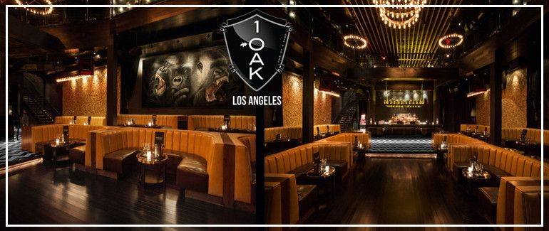 1oak La 1oak La Table Bottle Service 1oak Hollywood Los Angeles Nightclubs Bottle Service La Nightclubs