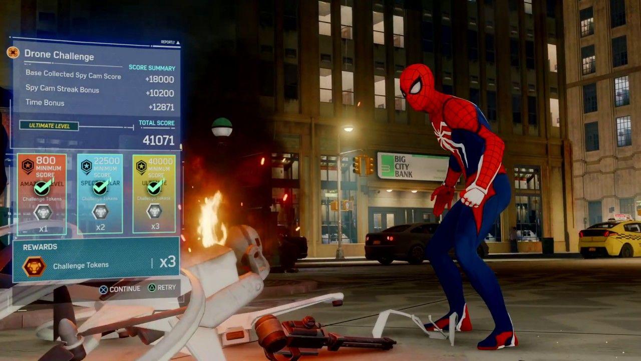 SpiderMan PS4 Drone Challenge https//cstu.io/97724c