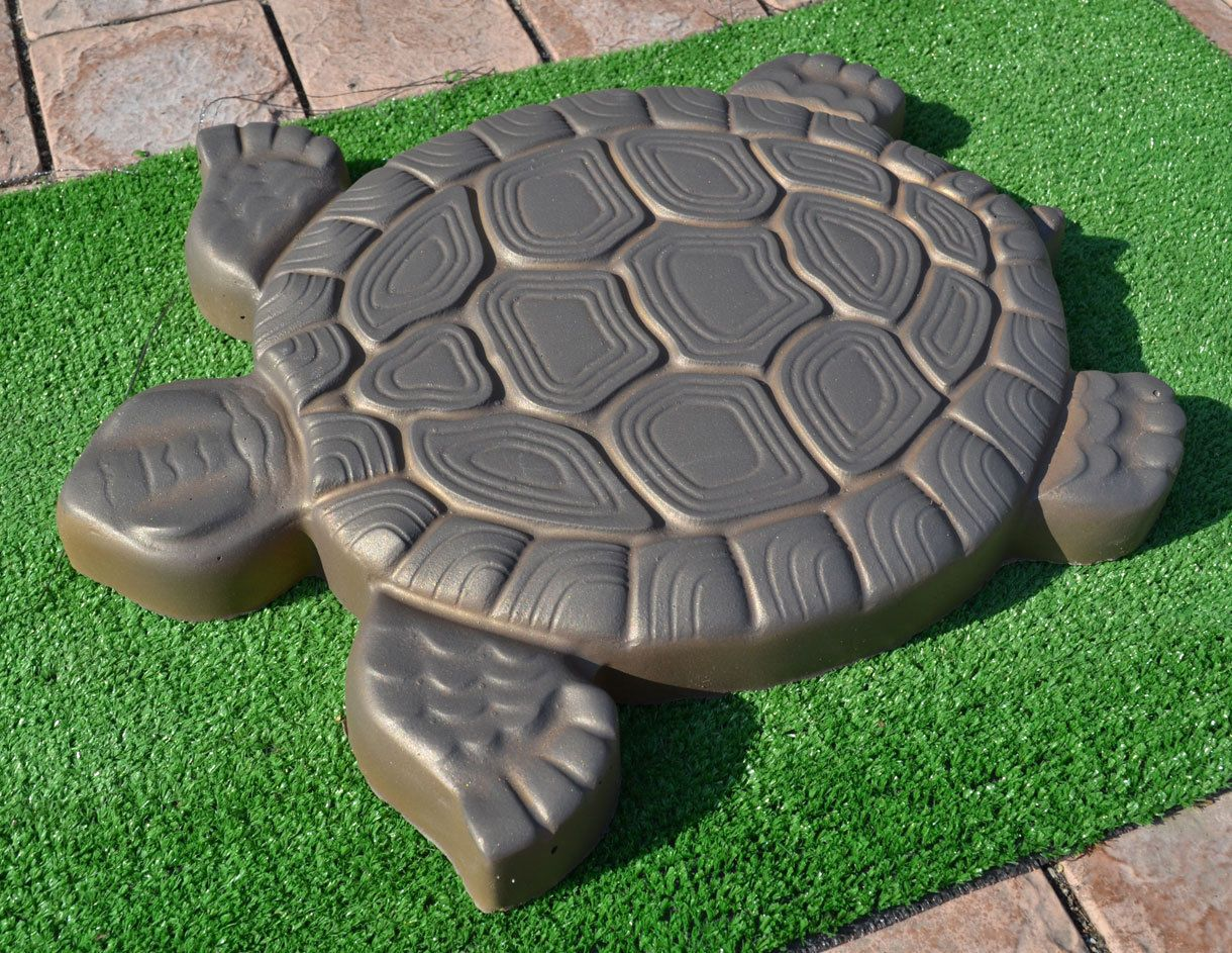 Aliexpress.com : Buy Turtle Stepping Stone Mold Concrete Cement ...