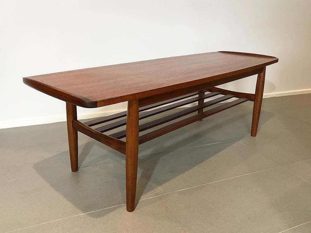 Mid Century Lane On Instagram Genuine 1970 S Australian Made Teak Parker Coffee Table Professionally Restored For Luke S C Of Rose Bay Nsw Comes With Sol [ 810 x 1080 Pixel ]