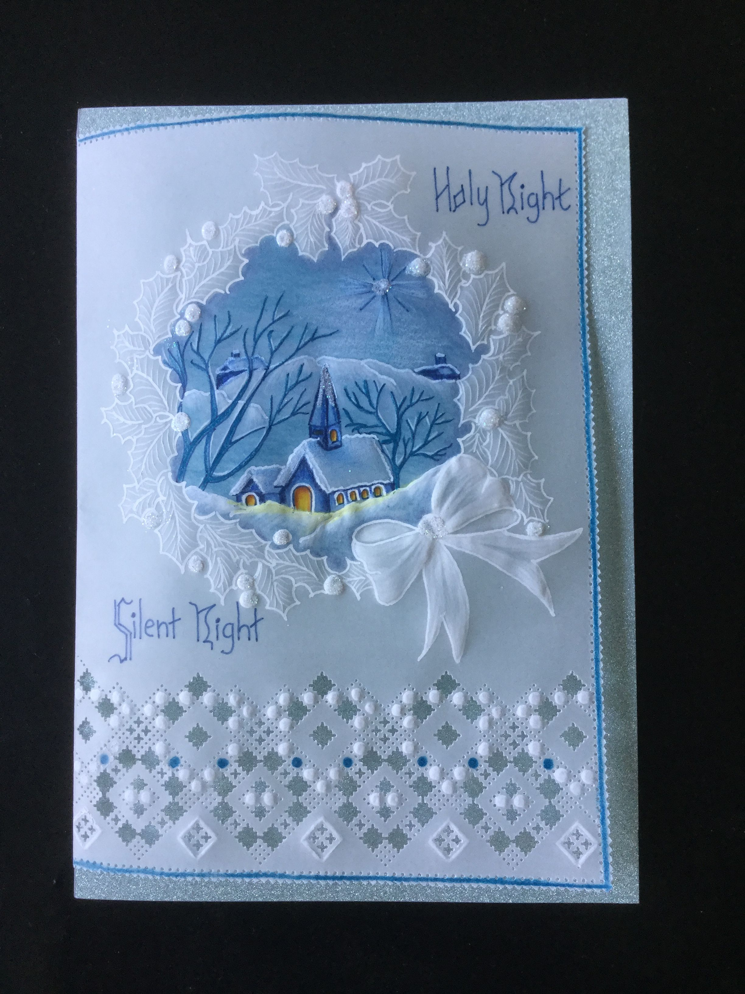 A combination of cards from Pinterest crafted by Miss