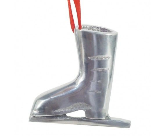GolMaalShop Hanging Silver Boot - for adding an interesting #decor element in your home.   Buy it on - http://www.makenlive.com/products/5447/home-decor/decoration-items/GolMaalShop%20Hanging%20Silver%20Boot  #home #decor #silver #aluminium #boot #interior #christmas #tree #hanging #cute #decorative #pieces