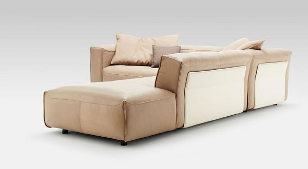 leather corner sofa rolf benz mio 8 for the home. Black Bedroom Furniture Sets. Home Design Ideas