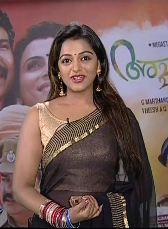 Tv anchor meera anil latest photos in transparent saree sleeveless tv anchor meera anil latest photos in transparent saree sleeveless blouse exposing navel indian filmy actress thecheapjerseys Gallery