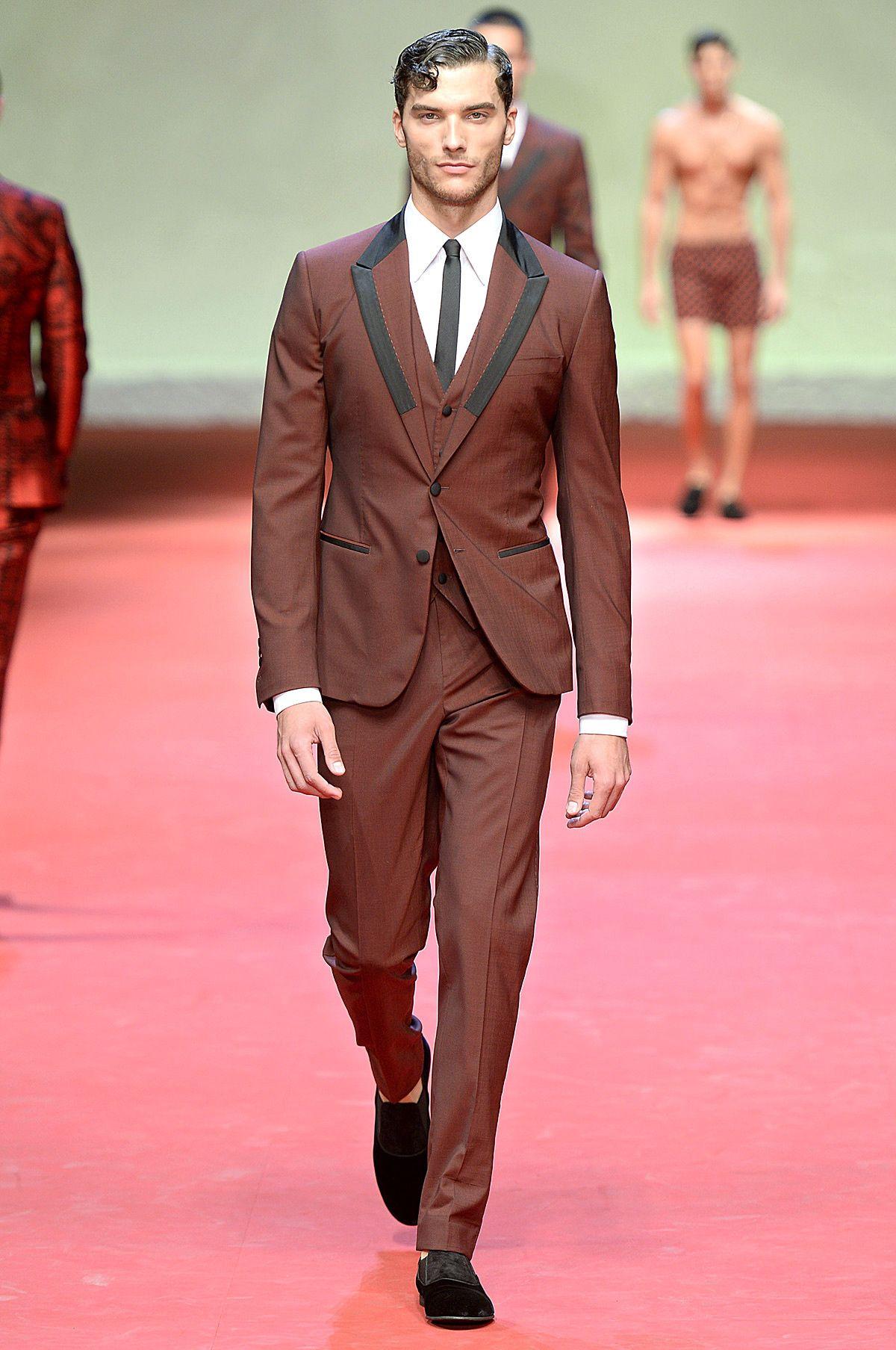 La colección primavera-verano 2015 de Dolce & Gabbana en Milán ...