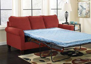 Zeth Crimson Full Sofa Sleeper Livingrooms Pinterest Sofa