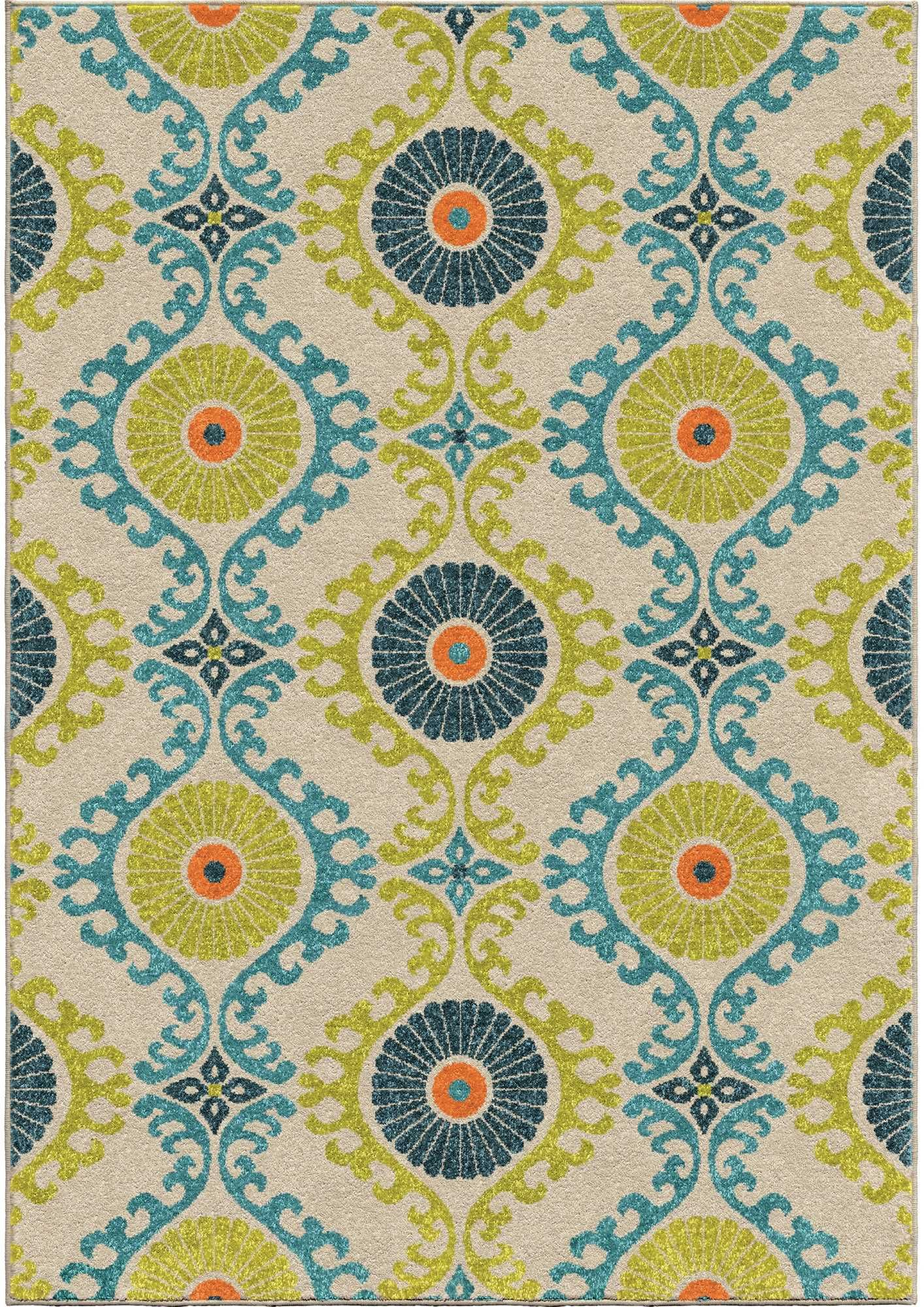 Promise Floating Floral Rug Floral rug Orian Rugs