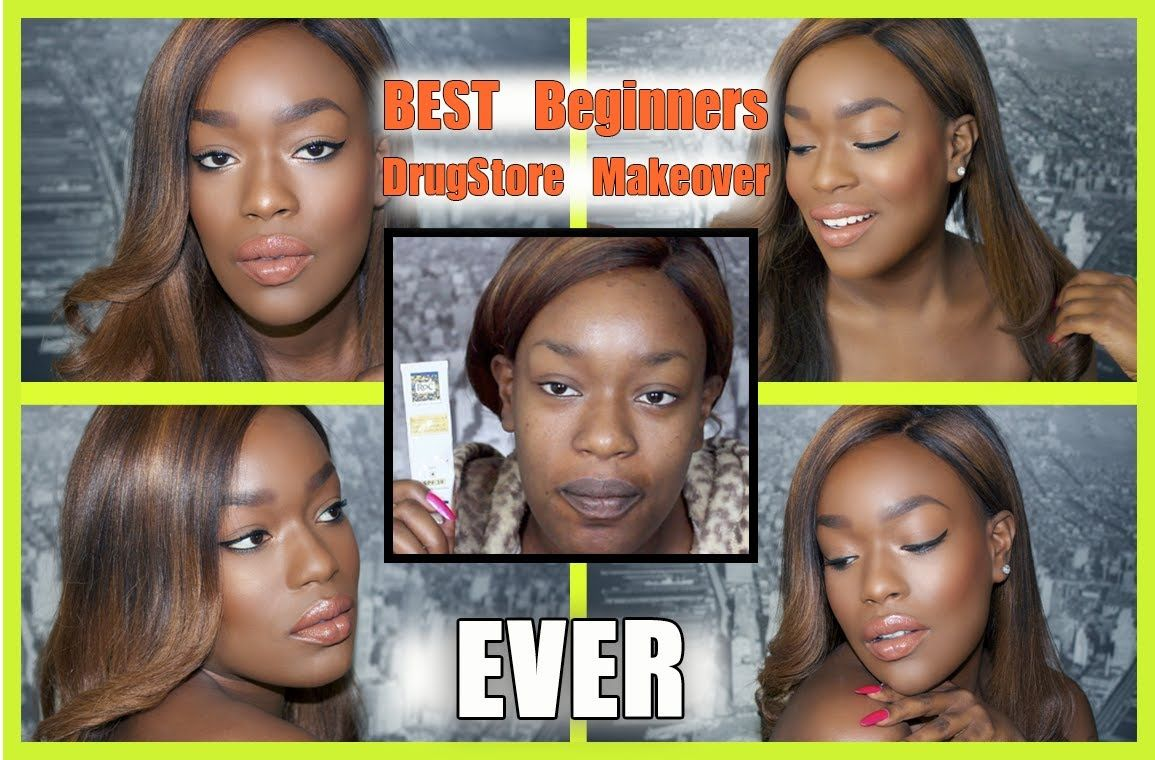 Drugstore Makeup Routine for African American Skin