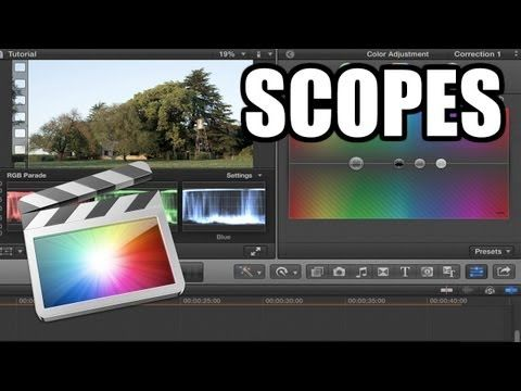 Final Cut Pro X - #41: ¿Dónde están los Scopes? - YouTube