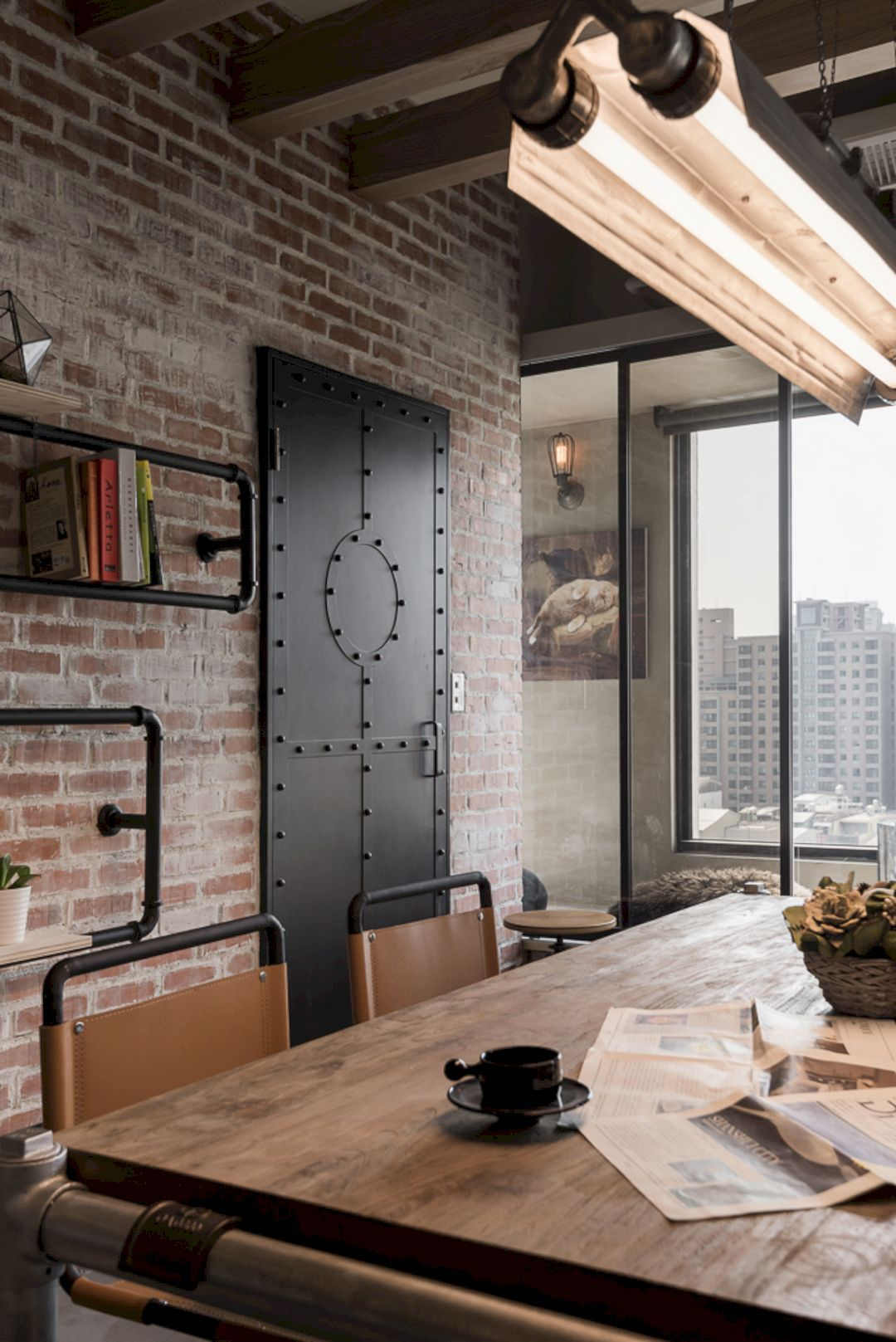 Recall Casa The Residential Of A Couple With Industrial Style And Vintage Interior Design Industrial Home Design Industrial Interior Design Urban Industrial Decor