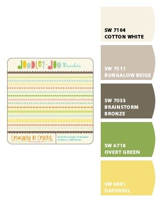 Paint colors from Chip It! by Sherwin-Williams | Color Combos - 5
