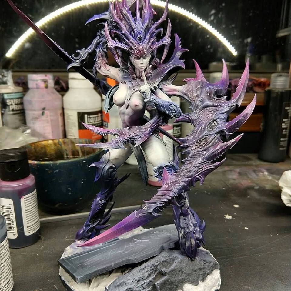 Matt Sterbenz Miniature Painting Forge World Avatar: Pin By Tyler McInnes On Slaanesh