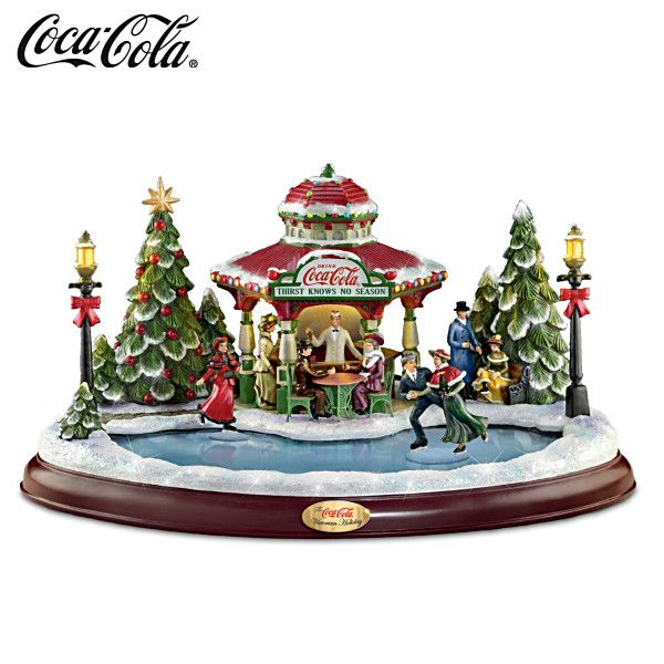 COCA-COLA Victorian Holiday Sculpture  200.00