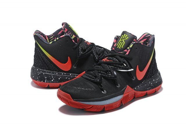 d54135b7ce6 Nike Kyrie 5 Camouflage Black Red Men s Basketball Shoes Irving Sneakers