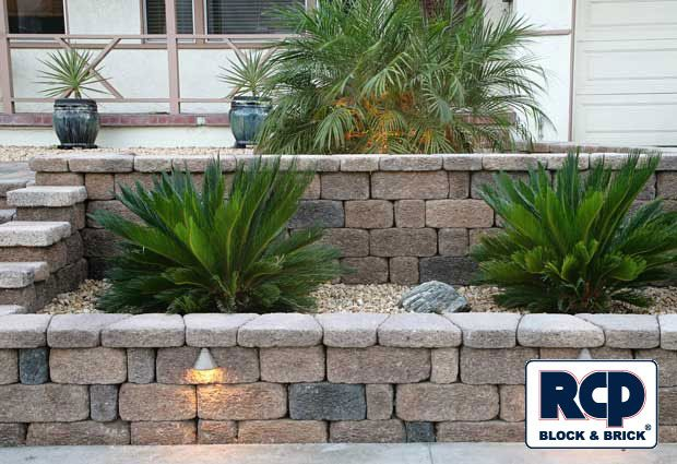 Front Yard Planter Designs Raised Planter Retaining Wall