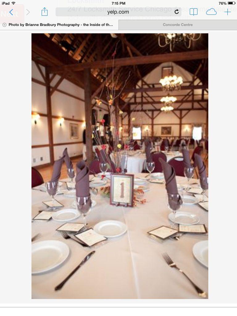 Concorde center Woodstock il   Table decorations, Wedding ...