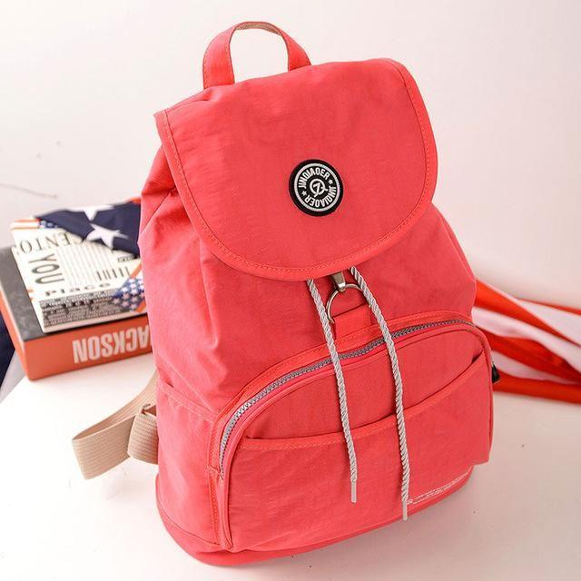 d7995739fca3 JINQIAOER Women Backpack Waterproof Nylon 10 Colors Lady Women s Backpacks  Female Casual Travel bag Bags mochila