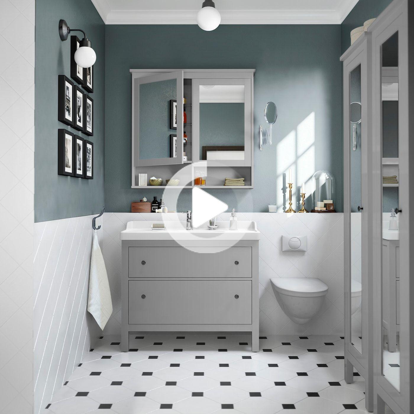 Elegantes Badezimmer In Hellen Farben In 2020 Elegant Bathroom Bathroom Fixer Upper