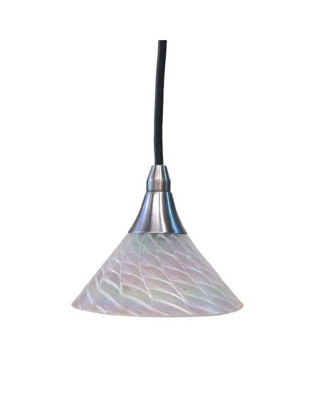 Epiphany Lighting Pg706 Pcf3bn One Light Mini Pendant In Brushed Nickel Finish