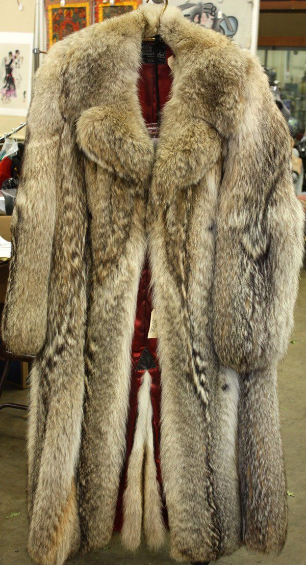 Wolf Fur Coat Coat Nj