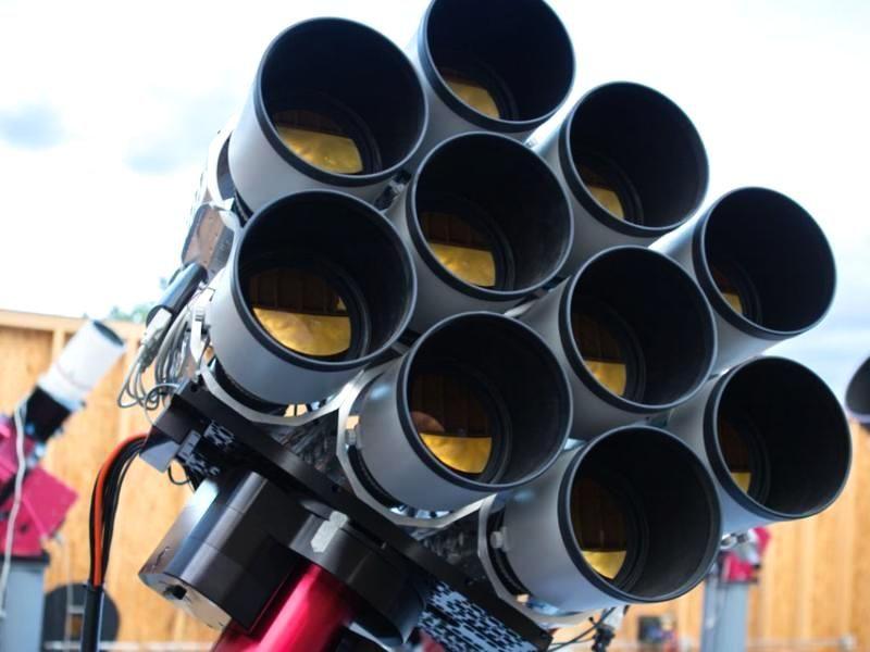Detailreiche astrofotografie dank canon linsen das teleskop der