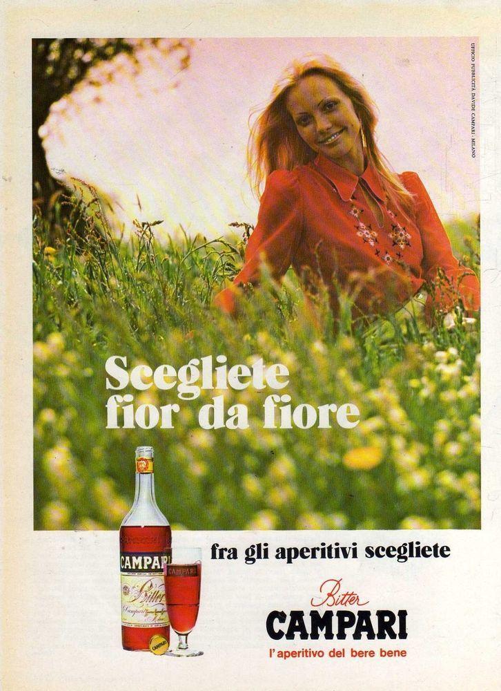 T14 Pubblicità Advertising Werbung del 1973 Campari Bitter ...