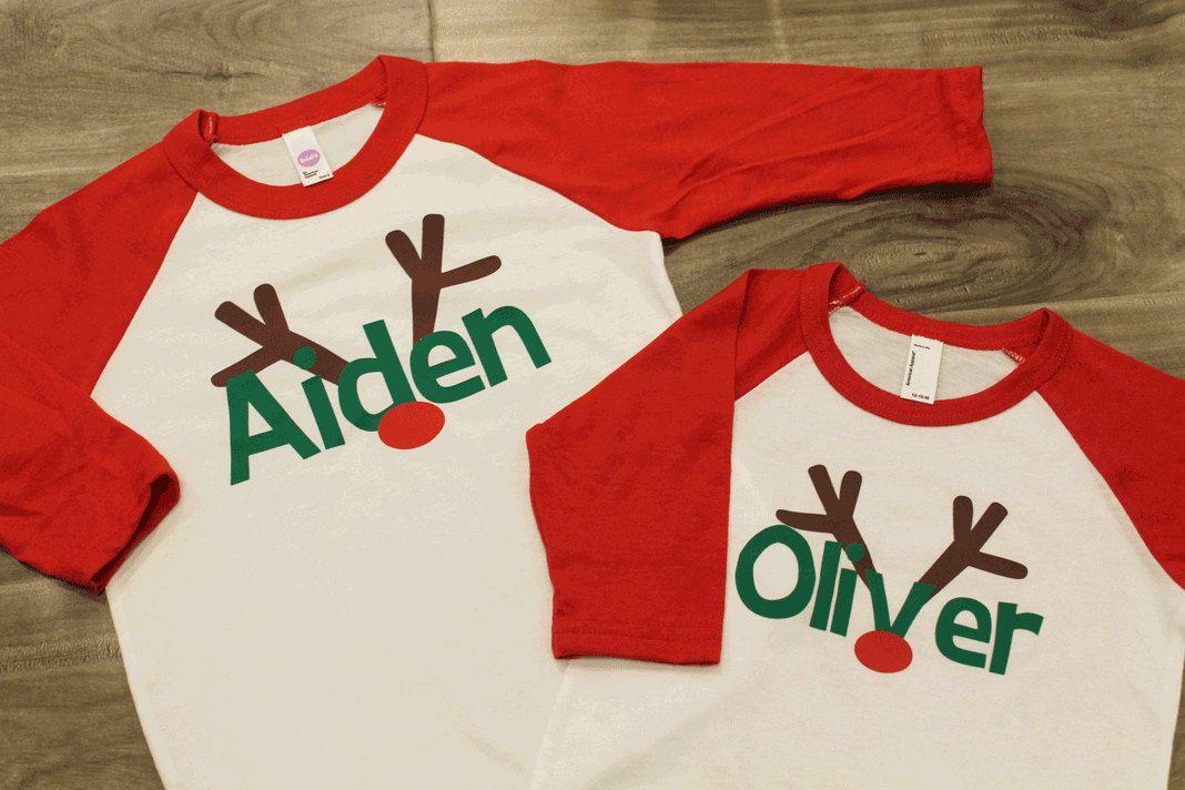 88b6e945 Kids christmas shirt | Christmas | Christmas shirts for kids, Boys ...