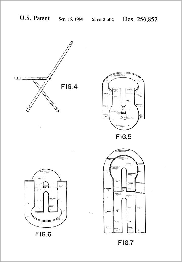 Superb Roger Tallon Chair Plan 2 In 2019 Folding Stool Stool Machost Co Dining Chair Design Ideas Machostcouk