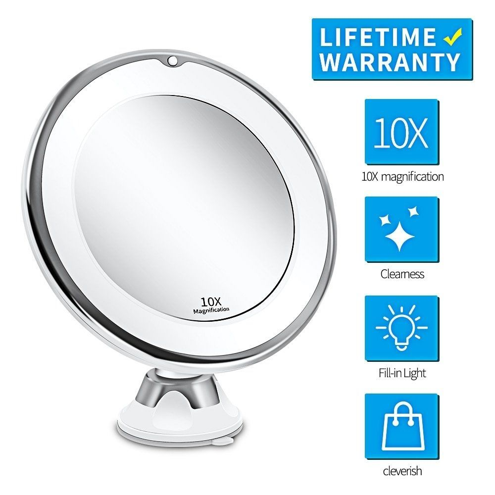 Get This Led Makeup Mirror With Led Ligh Get This Led Makeup Mirror With Led Light With 7x 10x Mag In 2020 Mirror With Led Lights Makeup Mirror Led Makeup Mirror