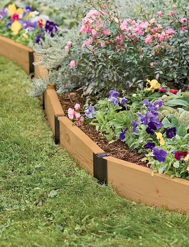 Raisedbeds Com Pivoting Raised Bed Connectors Build Your Own