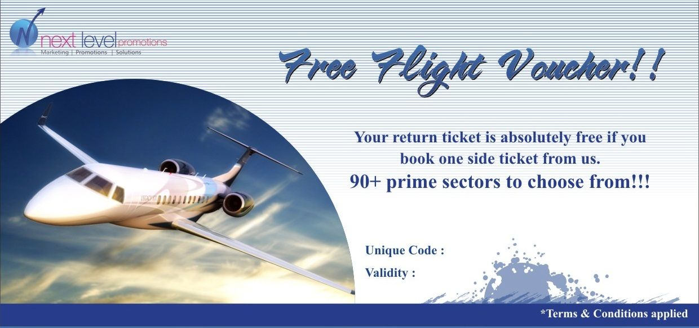 how to get free flight vouchers