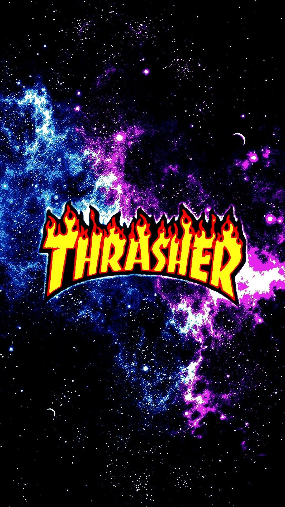 Galaxy Thrasher I Actually Have This My Background On My Phone
