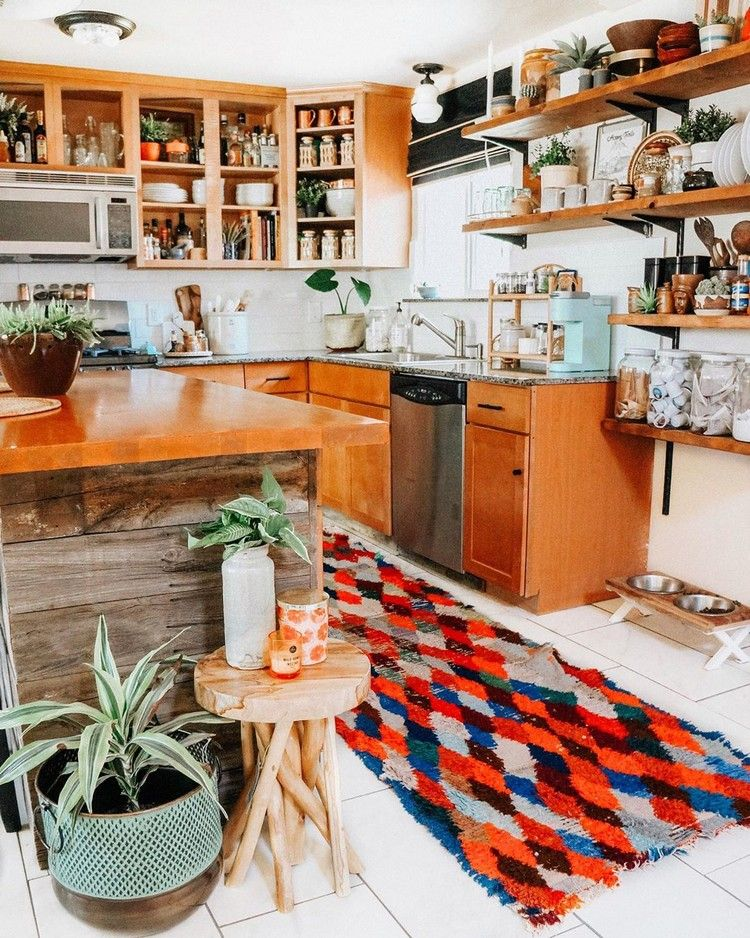 personalize your kitchen from tired to boho inspired bohemian kitchen decor boho kitchen on boho chic home decor kitchen id=21805