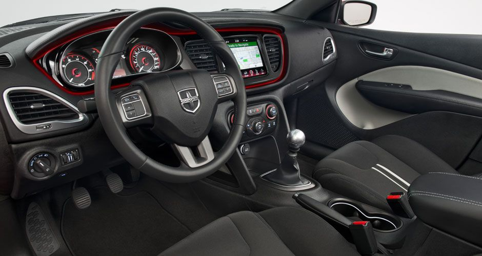 2014 Dodge Dart Sxt With Rallye Appearance Group Features A