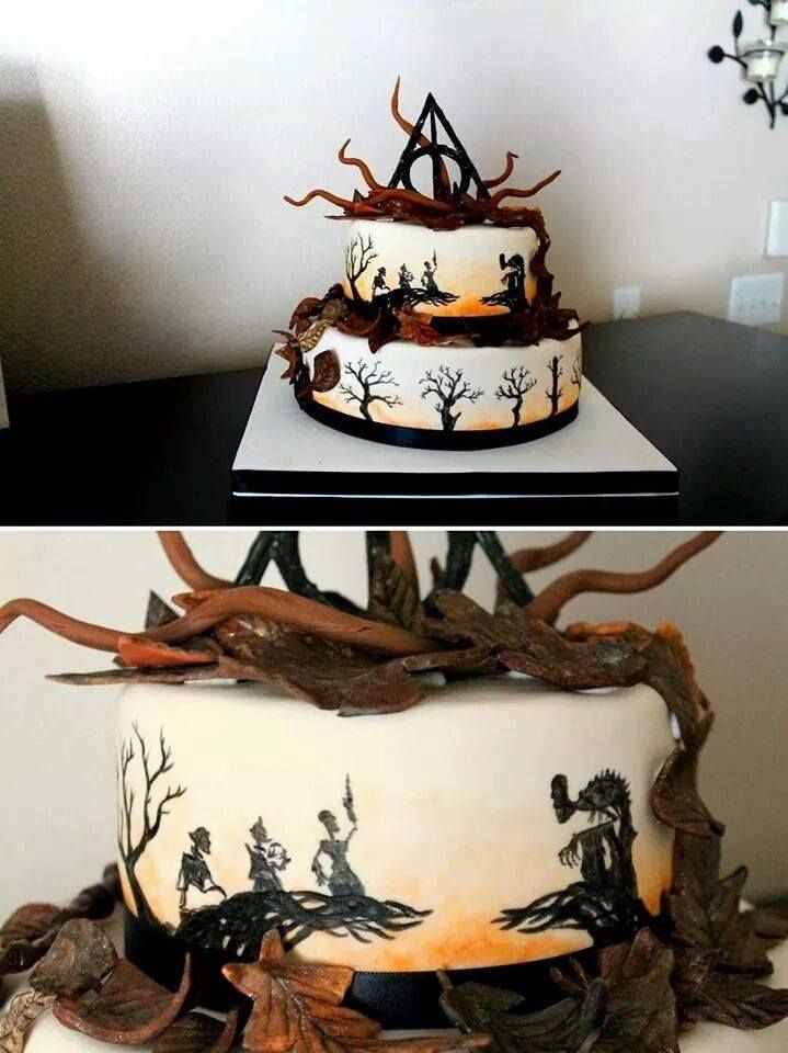Harry Potter Tale Of Three Brothers Cake