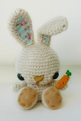 5 Free Easter Inspired Crochet Patterns via My Favourite Things