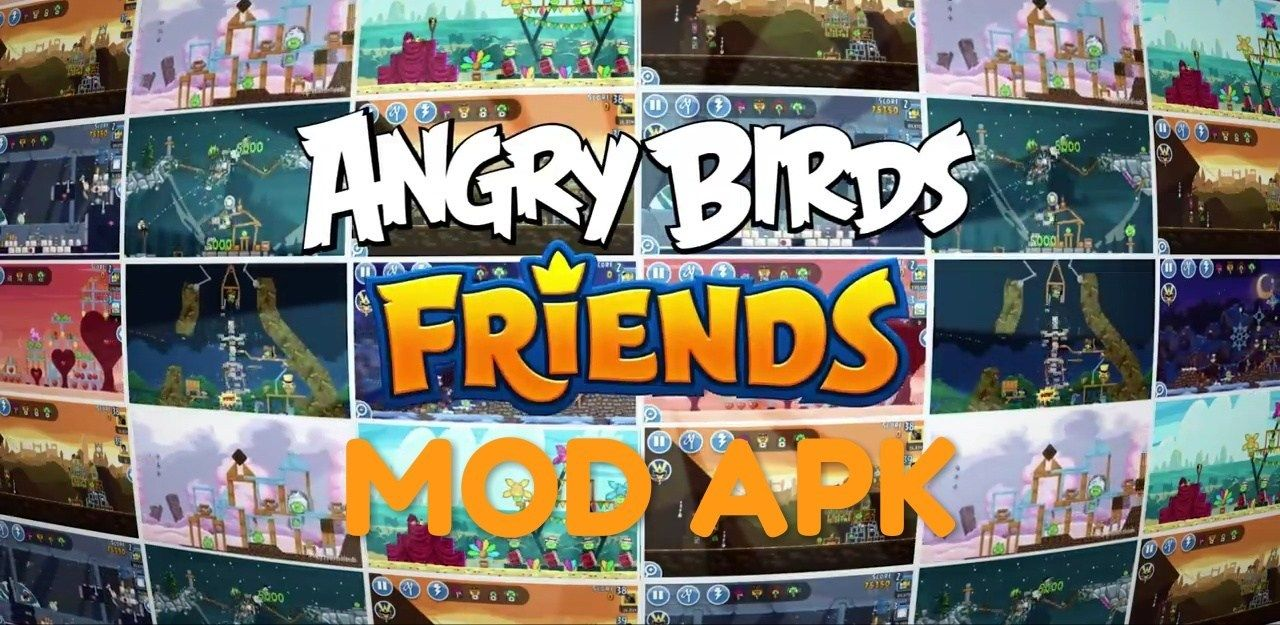 Download Angry Birds Mod Apk Latest Versions Free For Android