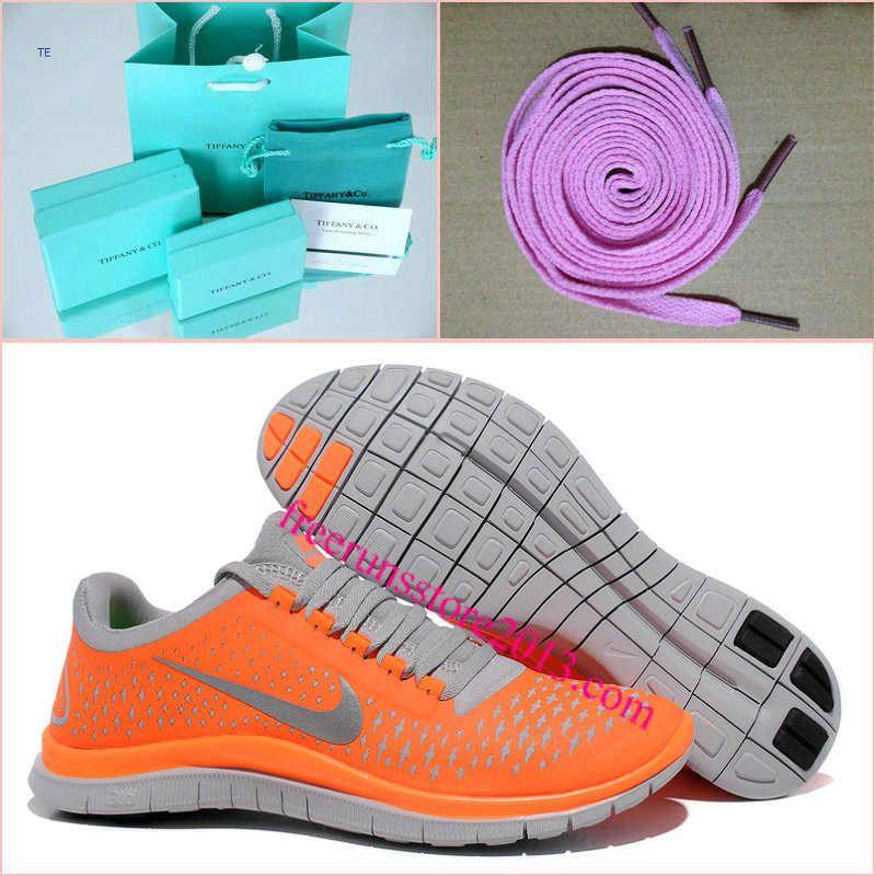 3ef5e71a953d Mens Nike Free 3.0 V4 Total Orange Reflect Silver Wolf Grey Shoes  Orange   Womens  Sneakers