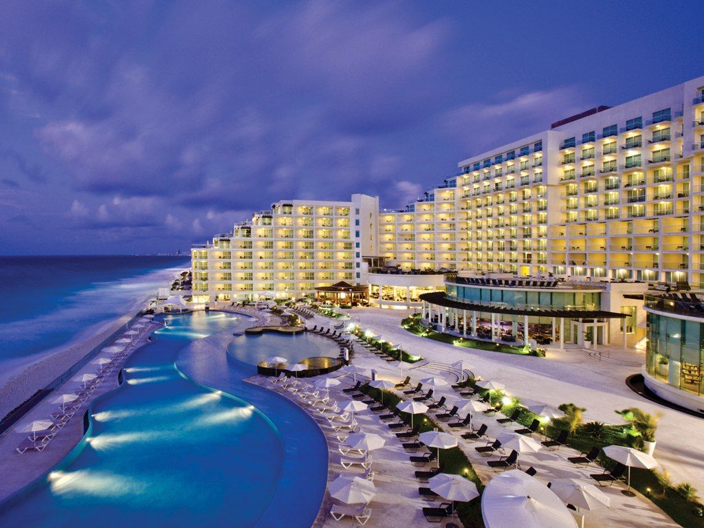 Cancun Palace Mexico Great All Inclusive Place To Stay First Time Ever Visiting We Hardly Left The Resort