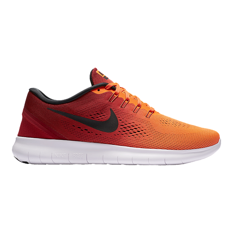 new product eb819 5da49 Men s Nike Free RN Running Shoe brings you miles of comfort with a  breathable engineered mesh