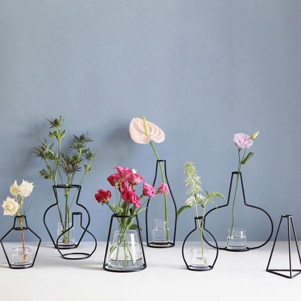 Minimalist Exposed Wire Vase   – Home&Decor – #Exposed #homedecor #Minimalist #V… Balkon