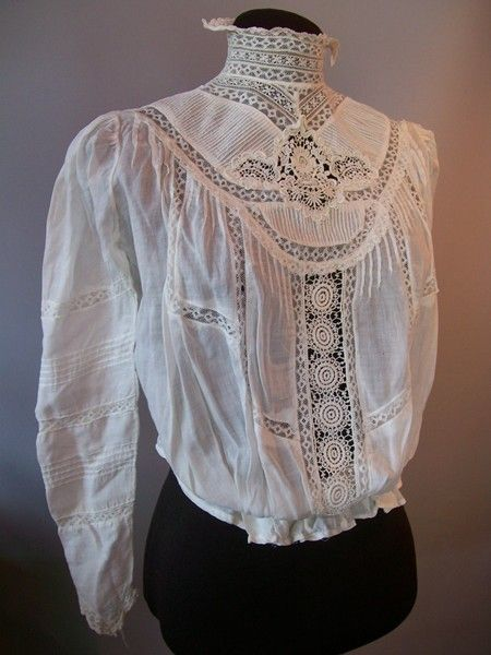 Lace Shirtwaist For The Love Of Lace In 2019 Lace