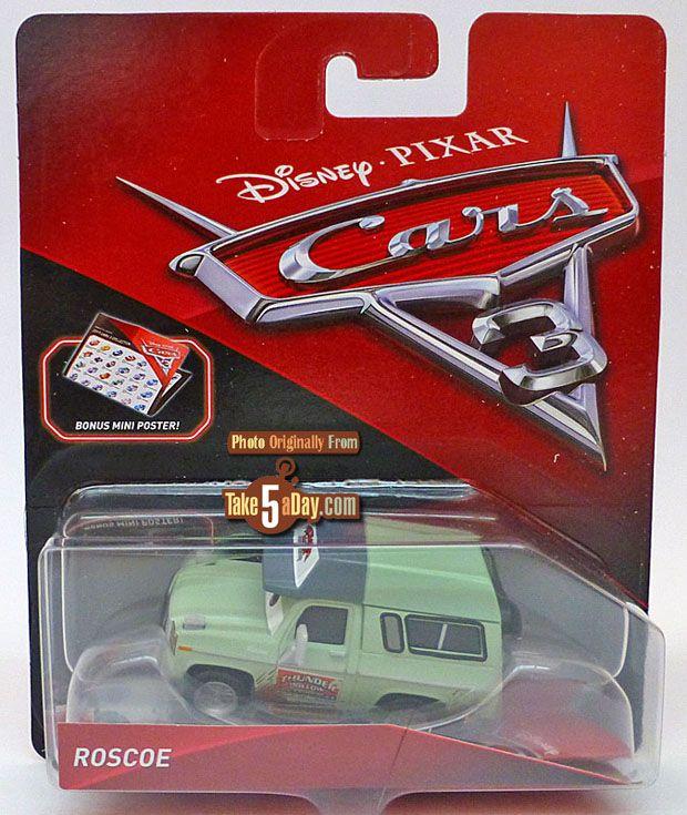 Mattel Disney Pixar CARS 3, Roscoe